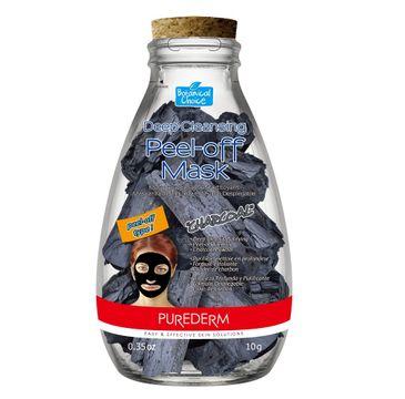 Purederm – Czarna maska oczyszczająca w płlachcie Charcoal (10 g)