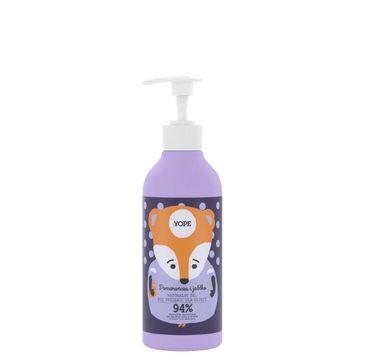 Yope – żel pod prysznic dla dzieci Pomarańcza i Jabłko (400 ml)
