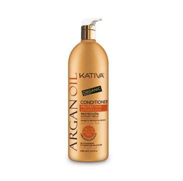 Kativa Argan Oil Conditioner odżywka do włosów z olejkiem arganowym 1000ml