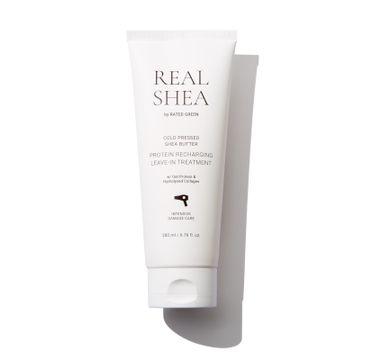 Rated Green – Proteinowa kuracja odbudowująca do włosów Real Shea (150 ml)