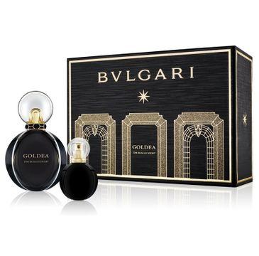 Bvlgari Goldea The Roman Night (zestaw woda perfumowana spray 50 ml + miniaturka wody perfumowanej 15 ml)