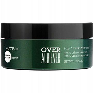 Matrix Style Link Play Over Achiever 3-in-1 pasta + krem + wosk do stylizacji włosów 49g
