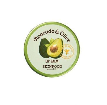 Skinfood – Avocado & Olive Lip Balm odżywczy balsam do ust z awokado i oliwą z oliwek (12 g)