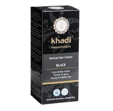 Khadi Herbal Hair Colour henna do włosów Czarny (100 g)