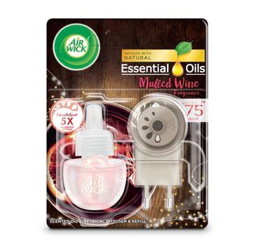 Air Wick – Elektryczny odświeżacz powietrza Grzane wino przy Kominku (19 ml)