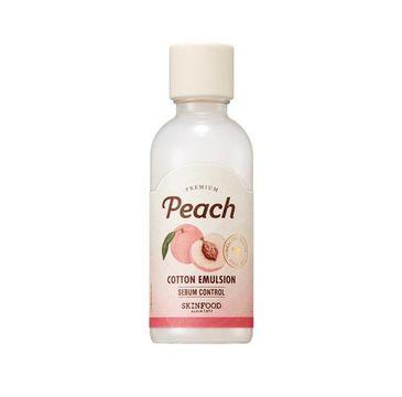 Skinfood – Premium Peach Cotton Emulsion nawilżająca emulsja brzoskwiniowa do twarzy (160 ml)