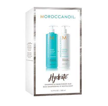 Moroccanoil Duo Pack Nawilżenie (zestaw szampon 500 ml + odżywka 500 ml)