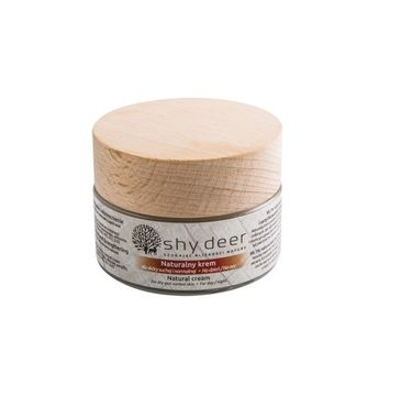 Shy Deer Natural Cream naturalny krem dla skóry suchej i normalnej 50ml