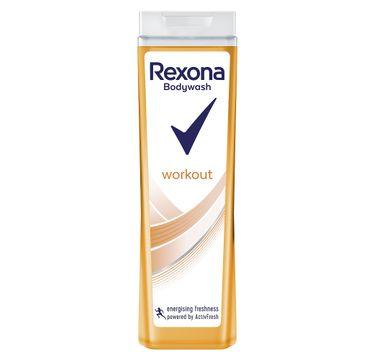 Rexona Workout – żel pod prysznic dla kobiet (400 ml)