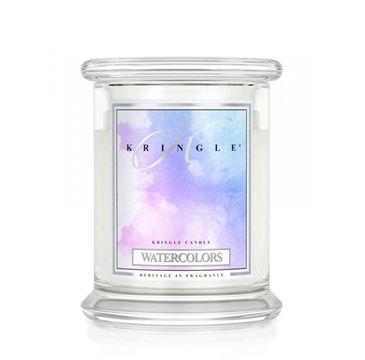 Kringle Candle – świeca zapachowa z dwoma knotami Watercolors (454 g)