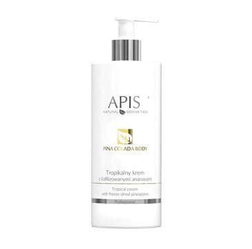 APIS – tropikalny krem z liofilizowanymi ananasami Pina Colada Body Tropical Cream (500 ml)
