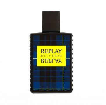Replay – Signature Reverse For Man woda toaletowa spray (50 ml)