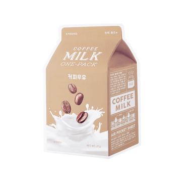 A'Pieu Coffee Milk One-Pack ujędrniająca maseczka w płachcie Kawa 20g