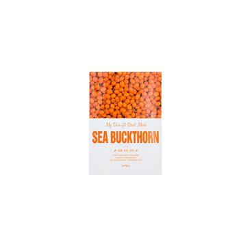 A'Pieu My Skin-Fit Sheet Mask nawilżająco-rozświetlająca maseczka w płachcie Sea Buckthorn 25g