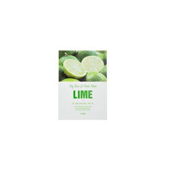 A'Pieu My Skin-Fit Sheet Mask regenerująca maseczka w płachcie Lime 25g