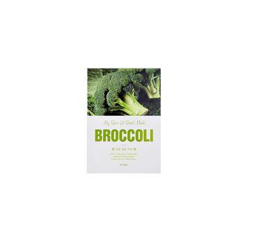 A'Pieu My Skin-Fit Sheet Mask wygładzająco-oczyszczająca maseczka w płachcie Broccoli 25g
