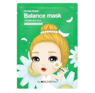 A'Pieu Orchid Flower Balance Mask ziołowa maska w płachcie 25g