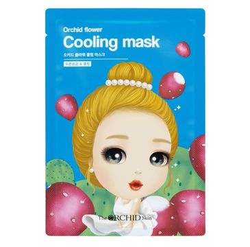 A'Pieu Orchid Flower Cooling Mask chłodząca maska w płachcie 25g