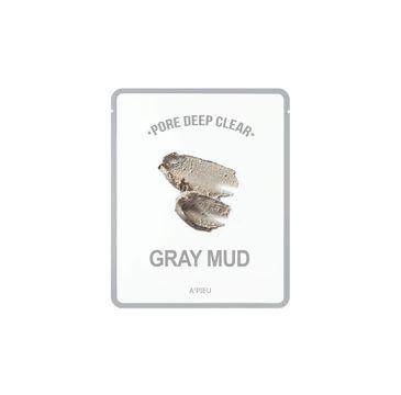 A'Pieu Pore Deep Clear oczyszczająca maseczka peel-off Gray Mud 15g