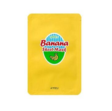 A'Pieu Sheet Mask nawilżająco-odżywcza maseczka w płachcie Banana 23g