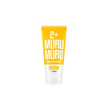 A'Pieu Sticky Muru Muru 2+ Cleansing Foam kojąco-regenerująca pianka do mycia twarzy 130ml