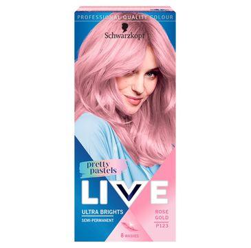 Schwarzkopf Live Pretty Pastels – krem koloryzujący L123 Rose Gold (1op.)