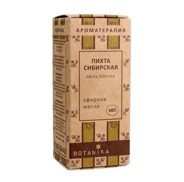 Botanika Aromaterapia – olejek eteryczny 100% Pichta syberyjska (10 ml)