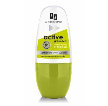 AA Active Green Tea antyperspirant w kulce 50 ml