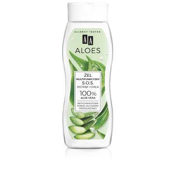 AA – Aloes Żel multifunkcyjny S.O.S. do rąk i ciała - 100% Aloe Vera (250 ml)