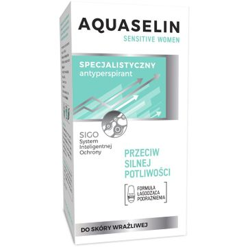 AA Aquaselin Sensitive dezodorant roll-on dla kobiet 50 ml