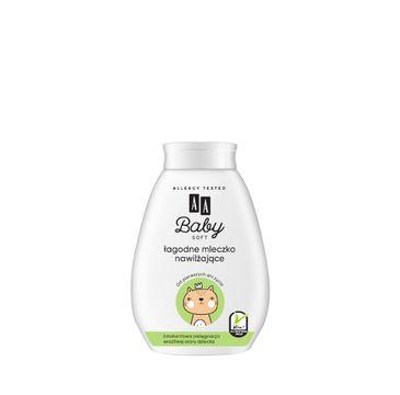 AA Baby Soft - łagodne mleczko do ciała nawilżające 250ml