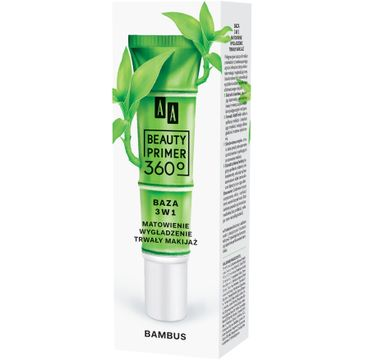 AA – Beauty Primer 360c Baza 3w1 z Bambusem (30 ml)