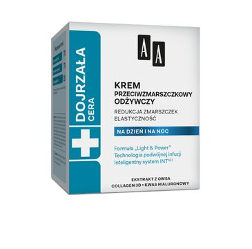 AA Cera Dojrzała krem do twarzy przeciwzmarszczkowy odżywczy na dzień i noc 50 ml