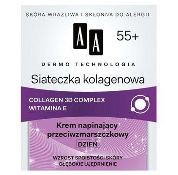 AA Dermo Technology Collagen Mesh Day Cream 55+ napinający krem na dzień 50ml