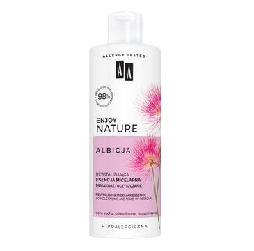 AA Enjoy Nature rewitalizująca esencja micelarna demakijaż i oczyszczanie (400 ml)