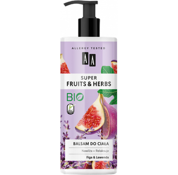 Fruits&Herbs –balsam do ciała figa&lawenda (500 ml)