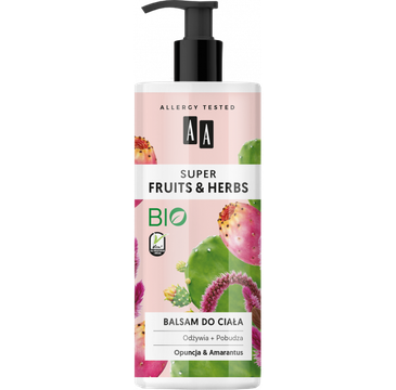 Fruits&Herbs – balsam do ciała opuncja&amarantus (500 ml)