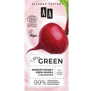AA – Go Green energetyzujący krem-maska z burakiem Natural  (50 ml)