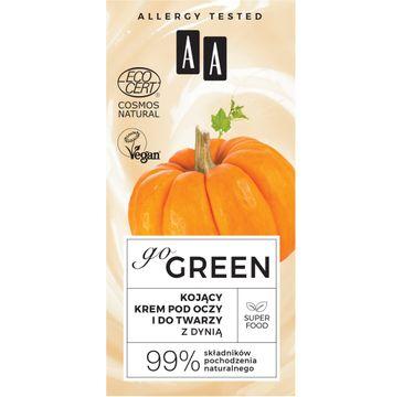 AA – Go Green kojący krem pod oczy i do twarzy z dynią Natural (50 ml)