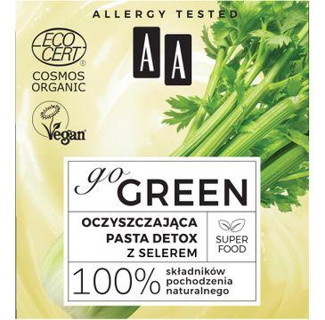 AA – Go Green oczyszczająca pasta detox z selerem organic (50 ml)