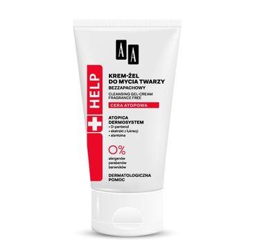 AA HELP Cera Atopowa Krem - żel do mycia twarzy 125 ml