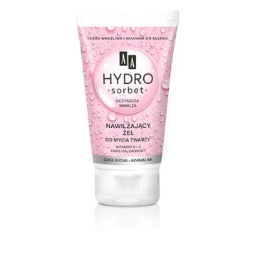 AA Hydro Sorbet nawilżający żel do mycia twarzy do cery suchej i normalnej 150ml
