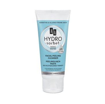 AA Hydro Sorbet pasta peelingująca do oczyszczania twarzy cera mieszana 50 ml