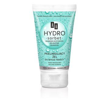 AA Hydro Sorbet Peelingujący Żel do mycia twarzy - cera mieszana i normalna 150 ml