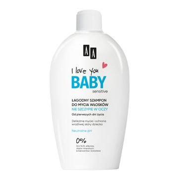 AA I Love You Baby łagodny szampon do mycia włosków (200 ml)