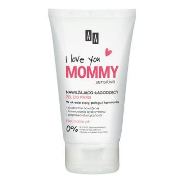 AA I Love You Mommy nawilżająco-łagodzący żel do piersi (125 ml)