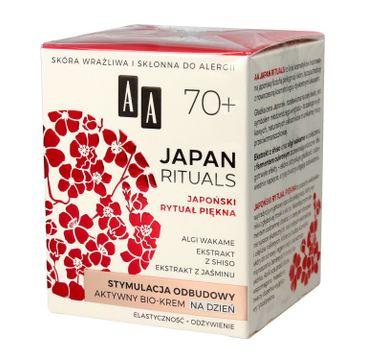 AA Japan Rituals 70+ aktywny bio krem na dzień - stymulacja odbudowy 50 ml