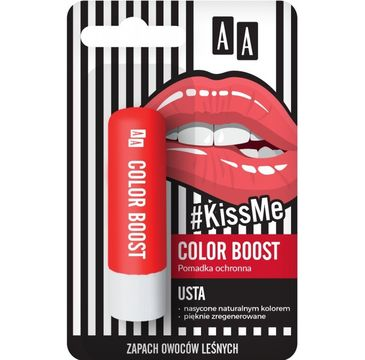 AA #Kiss Me Pomadka ochronna Color Boost 3.8 g