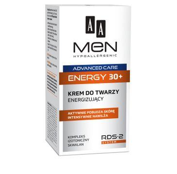 AA Men Advanced Care  Energy 30+ krem do twarzy energizujący 50 ml