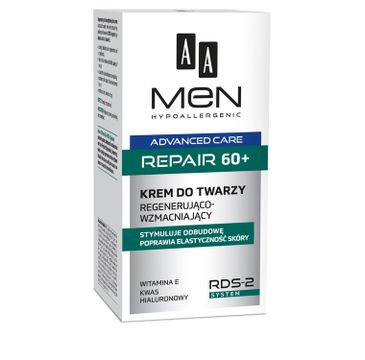 AA Men Advanced Care krem do cery 60 + naprawczy 50 ml